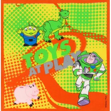 Buzz and friends - Toy Story - Disney Pixar cotton handkerchief
