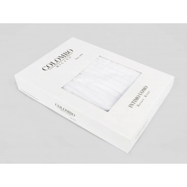 Side box - Kent - Boxer shorts for men in white cotton