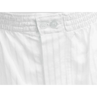 Detail - Kent - White men's cotton boxer
