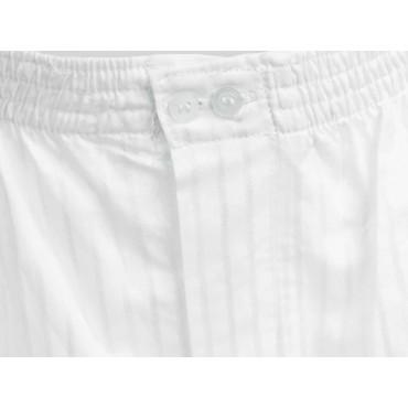 Detail - Kent - White men's cotton boxer