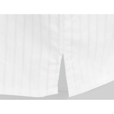 Slit detail - Kent - Men's white cotton boxer
