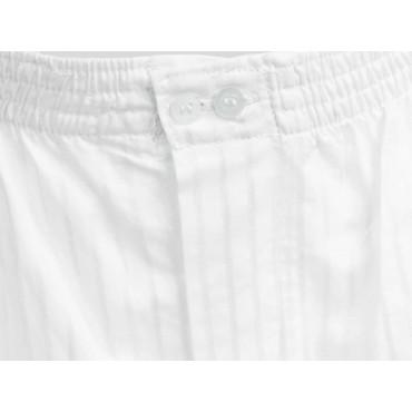 Dettaglio - Kent - Boxer da uomo bianco in cotone taglie forti
