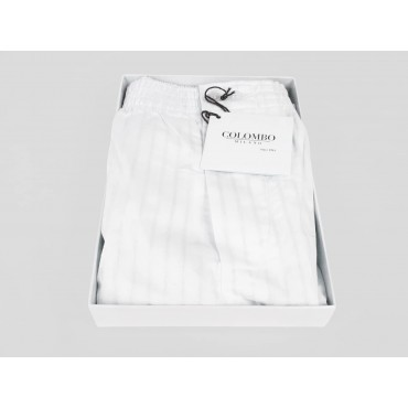 Open box - Kent - Men's boxer in white cotton plus size