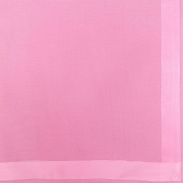 Dark pink colorway - Colored Perla - solid color handkerchiefs with satin stripes