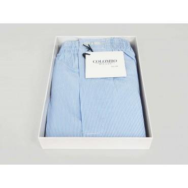 Open box - Kent - Men's boxer shorts in striped cotton