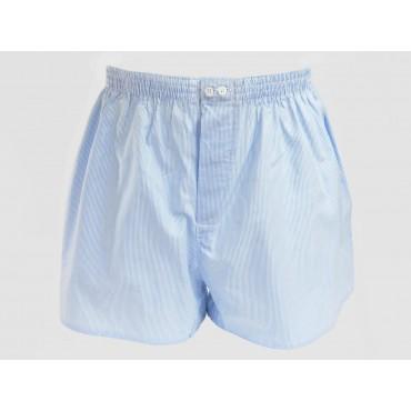 Kent - Men's striped cotton boxer shorts for large sizes