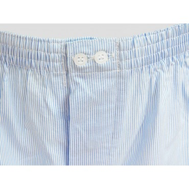 Detail - Kent - Men's striped boxer shorts in cotton plus sizes
