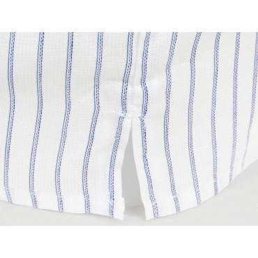 Kent slit - Blue and light blue striped men's boxer shorts