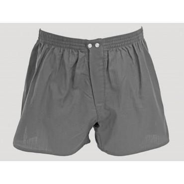 Kent - Men's gray cotton boxer shorts