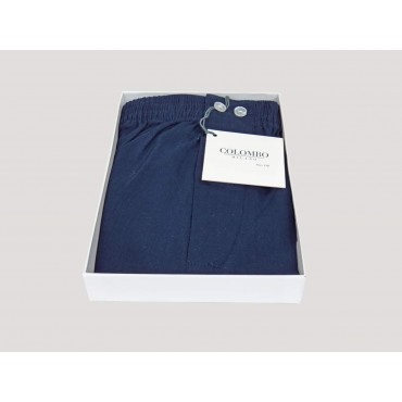 Open box Kent - Boxer for men in blue cotton