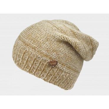 beige - cappello da donna finissaggio mohair con lurex e cuoricino oro