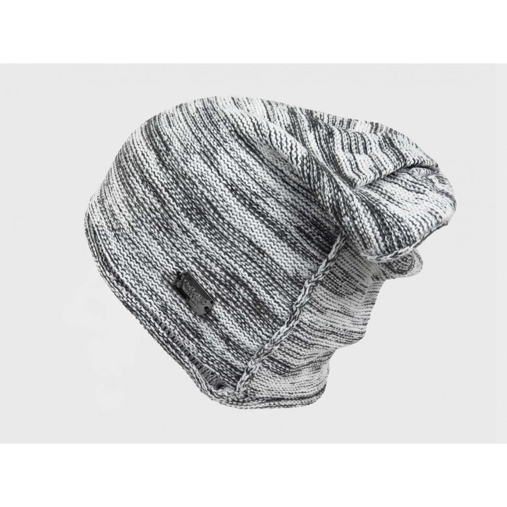 Grigio - Cappello da uomo bicolore casual