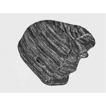 Two-tone men's casual hat - dark grey