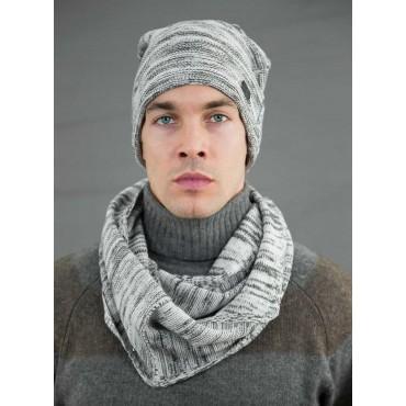 Two-tone men's casual hat - model