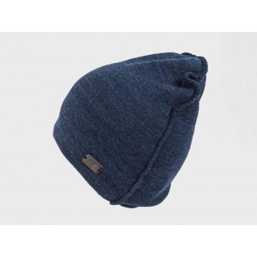 Blu- Cappello da uomo con cuciture esterne