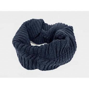 blu - sciarpa da uomo a spicchi
