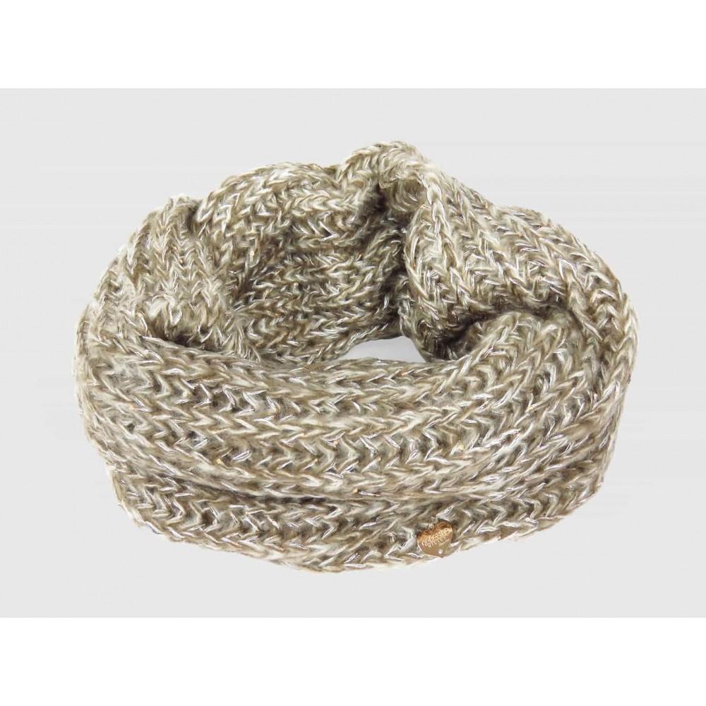 Fango - sciarpa morbida da donna con paillettes e lurex