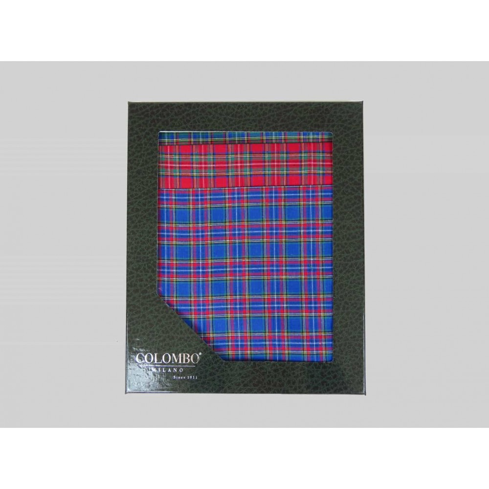 Scozia dozzina - fazzoletti di cotone da uomo a fantasia scozzese