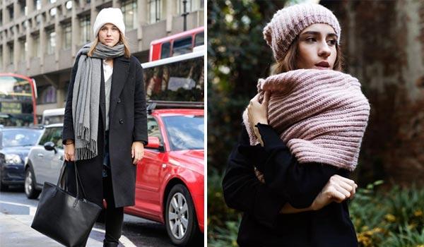 Accessori moda inverno cappello sciarpa e guanti