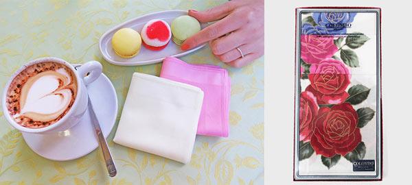 Regalo fazzoletto di stoffa per la festa della mamma
