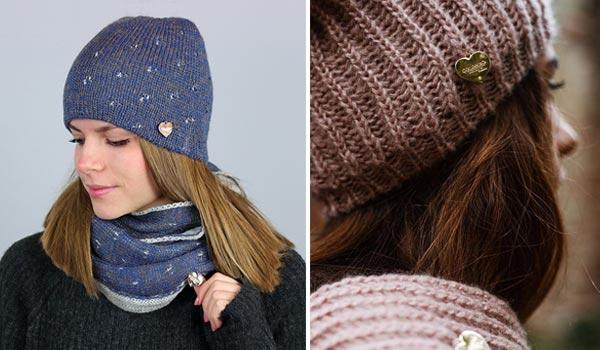 Accessori invernali cappello e berretto da donna