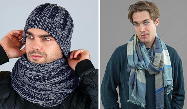 Accessori invernali sciarpe da uomo