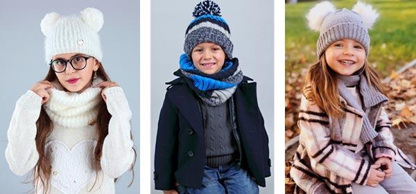Accessori moda inverno per bambini