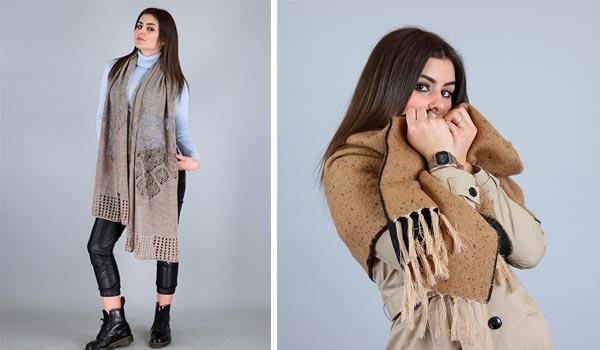 Accessori moda inverno sciarpe da donna