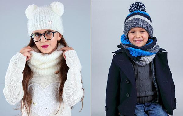 Accessori moda bambini per i primi freddi