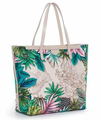 borsa stile tropicale
