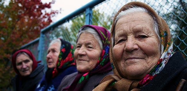 Babushka: il foulard delle nonne Russe