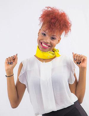 bandana foulard giallo festa della donna
