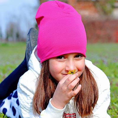 cappellini per bambini per i primi freddi
