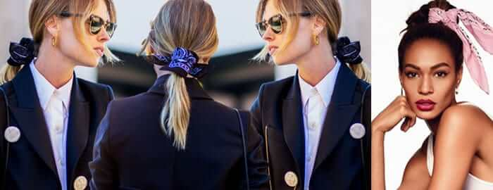 bandana per legare i capelli