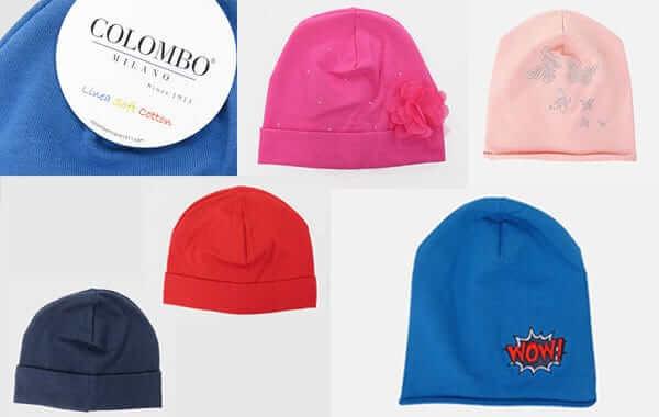 berretti per bambini