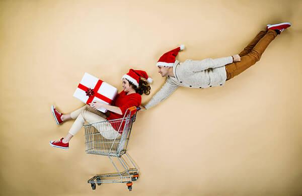 Corsa ai regali di Natale
