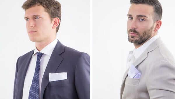 Fazzoletto di stoffa per gentleman