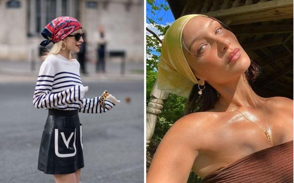 fashion blogger e modelle con la bandana