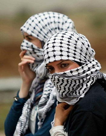 foulard come Kefiah