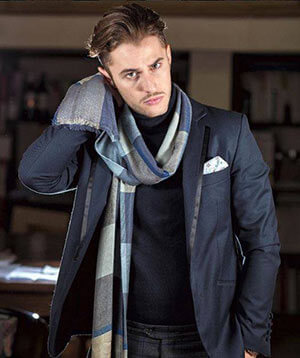 foulard per uno stile dandy