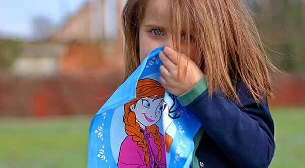fazzoletti stoffa disney per bambini