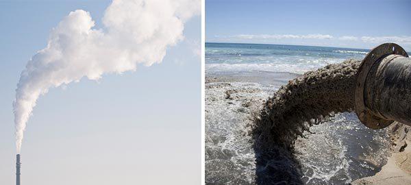 Inquinamento aria e acqua