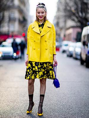 vestirsi di giallo festa della donna