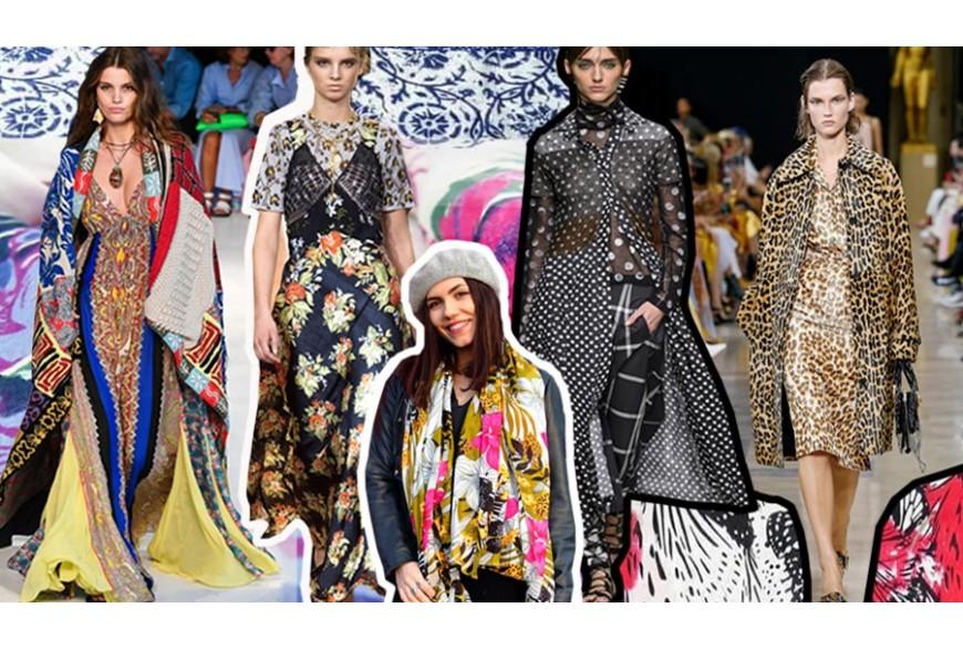 Stampe fantasia: la tendenza moda 2019 anche per gli accessori