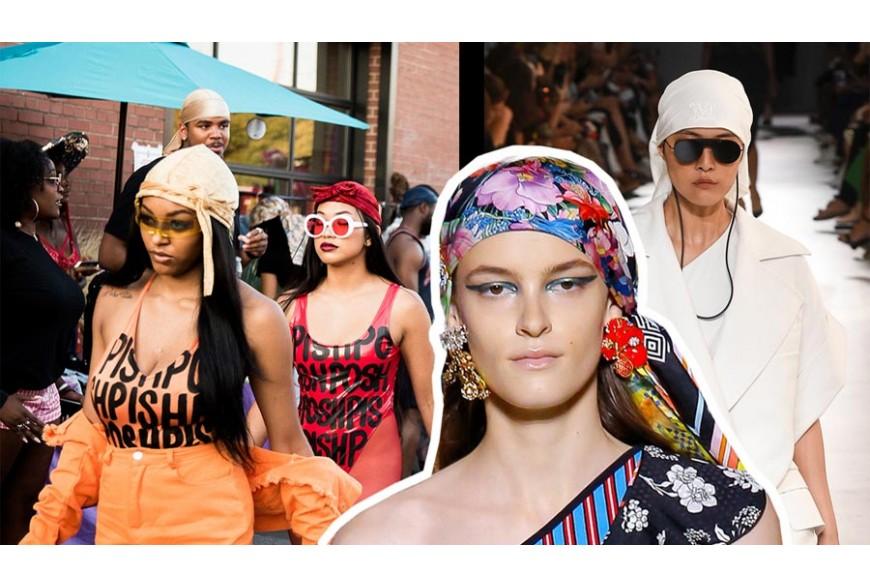 Durag, il foulard annodato in testa